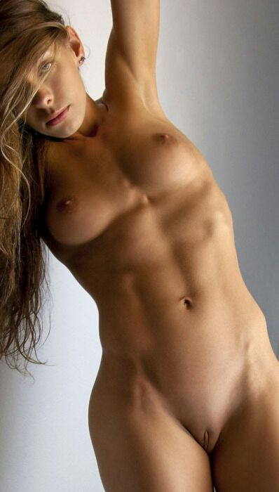 Women naked sexy abs