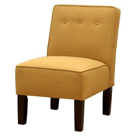 Skyline Slipper Chair With Buttons   $84.98   Yellow : Target