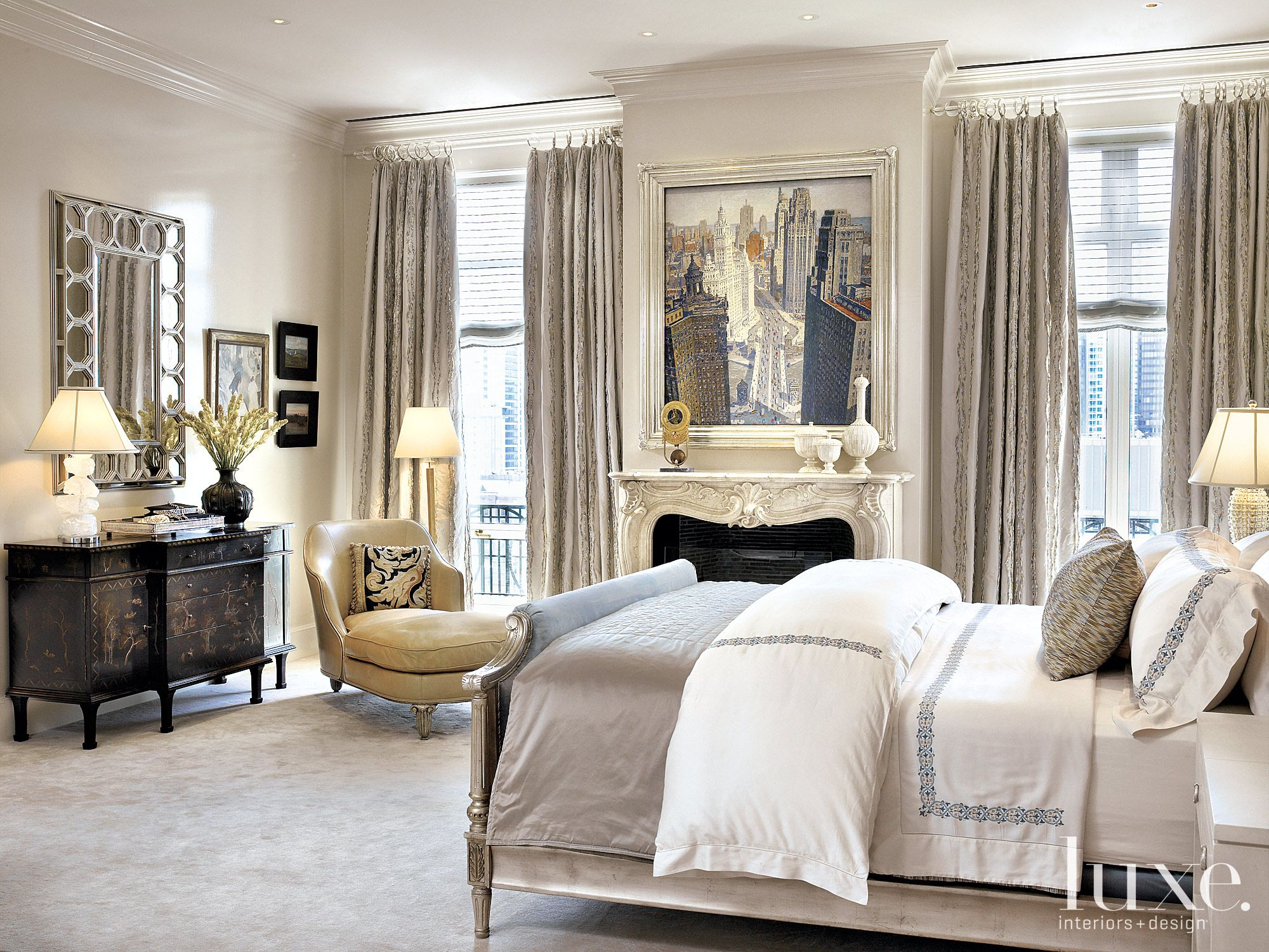 Beautiful Designer Bedrooms Interior Designer Jessica Lagrange And Architect Lucien Lagrange