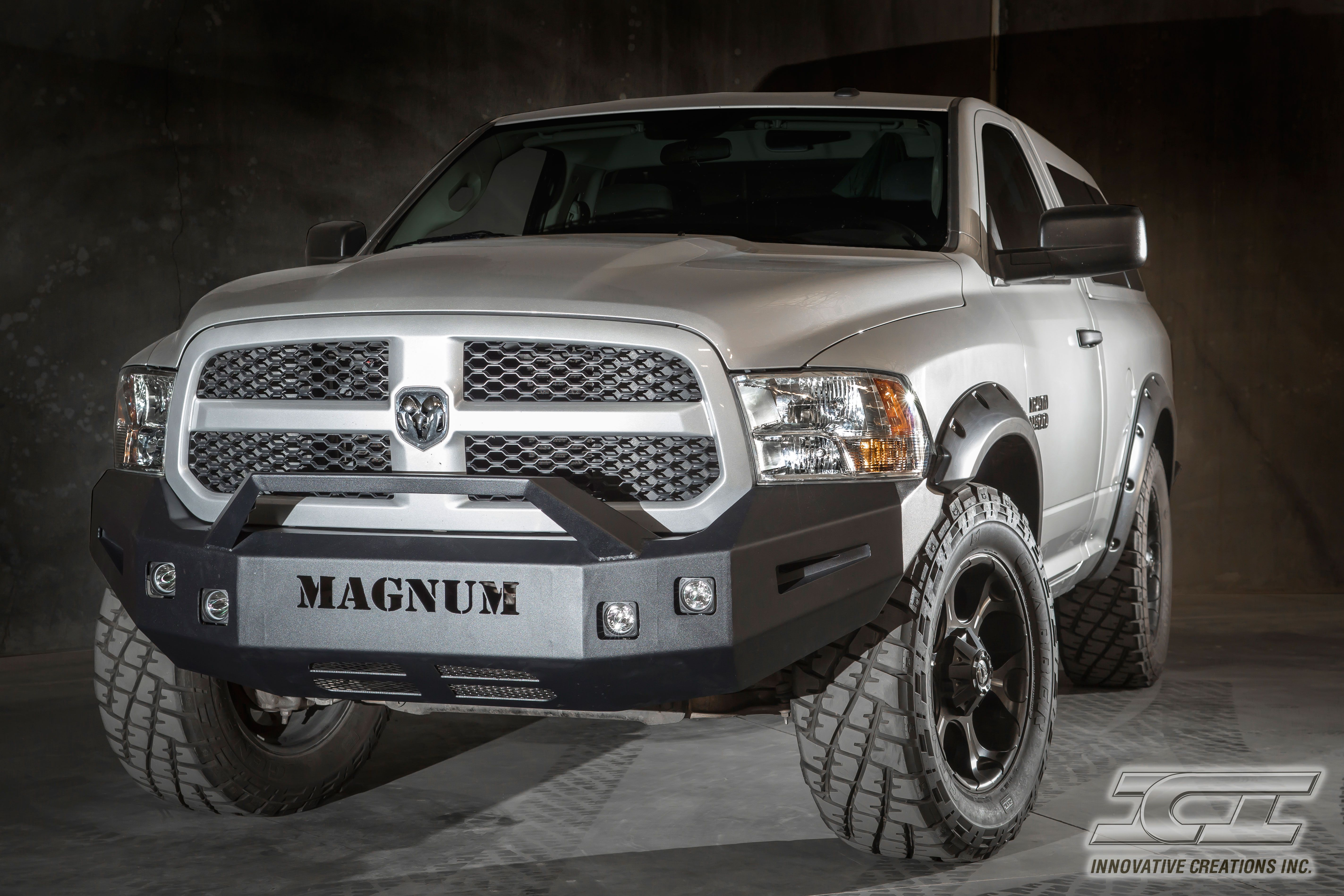 Front magnum bumper for 2009 2014 dodge ram 1500 sport and non sport