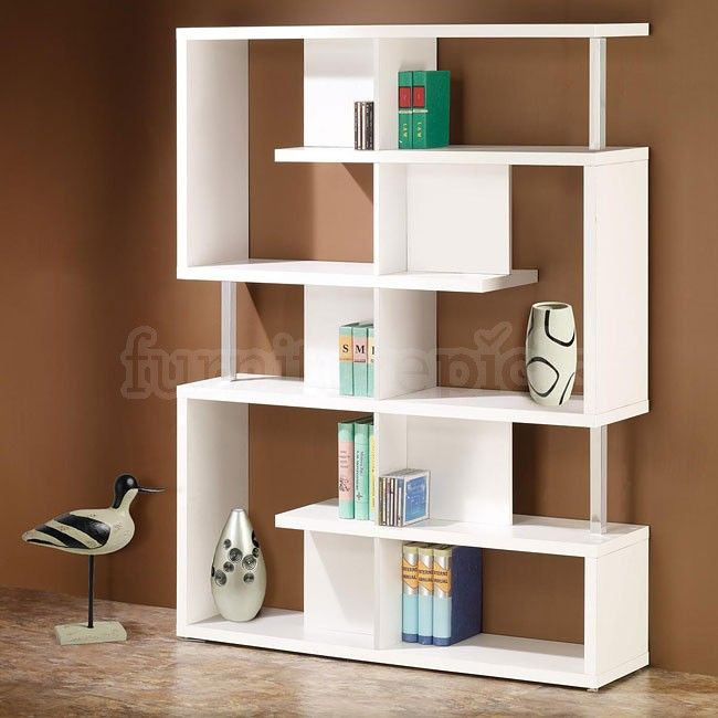 Erschwingliche, Moderne Weiße Bücherregal: Regale Ideen   Schlafzimmer