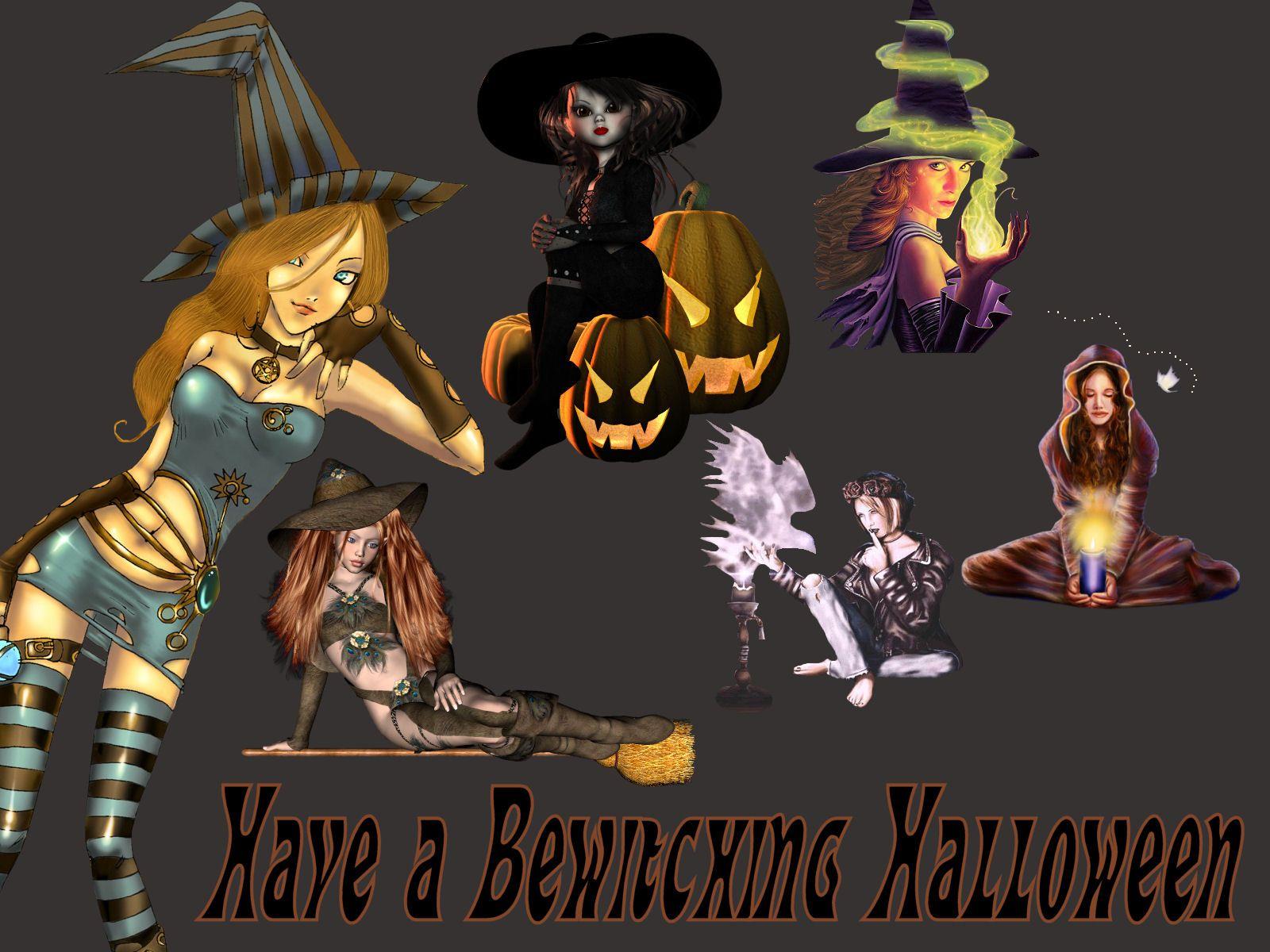 Download Vintage Halloween Wallpaper Gallery 1600×1200 ...