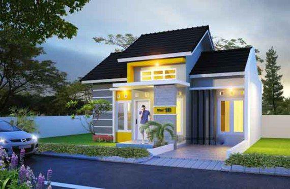 Desain Rumah Type 50 Minimalis Modern Terbaru 2017 gambar desain