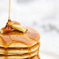 s e dicke eierkuchen plinsen pfannkuchen schnell und einfach rezept pancakes crepes. Black Bedroom Furniture Sets. Home Design Ideas