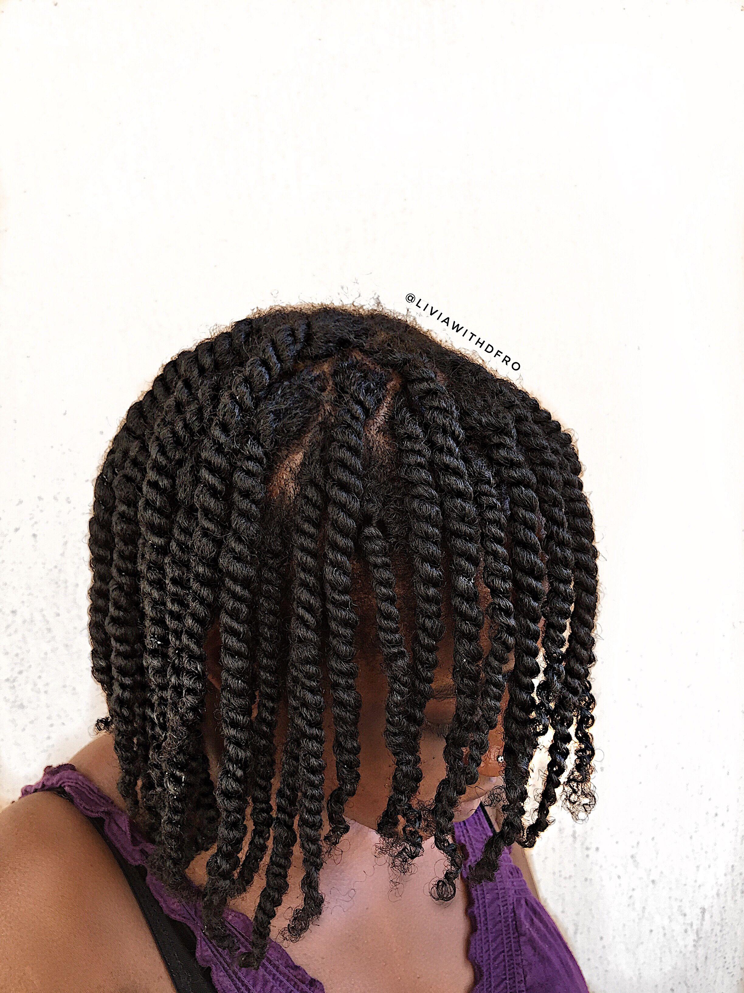 4c natural hair twostrand twist outtutorial - HD2448×3264