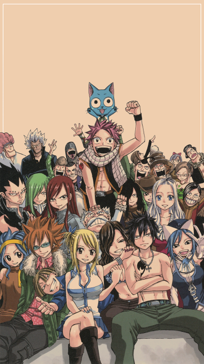Fairy Tail Phone Wallpapers