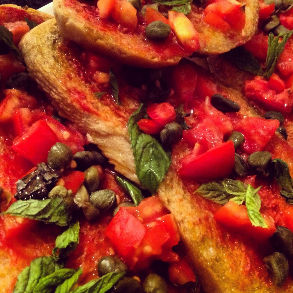 #Recipe for Mediterranean sourdough bread with tomatoes ..... so traditional, colorful and fun !