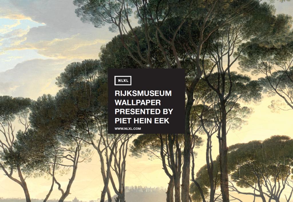 Rijksmuseum Wallpaper Presented By Piet Hein Eek Nlxl Piet Hein Eek Piet Wallpaper