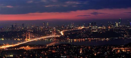 Bosphourus Bridge from Çamlıca Hill