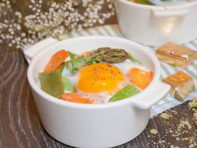 Recette saine et réconfortante aux légumes de printemps - Recette Plat : Cocottes aux légumes de printemps par MarineisCooking