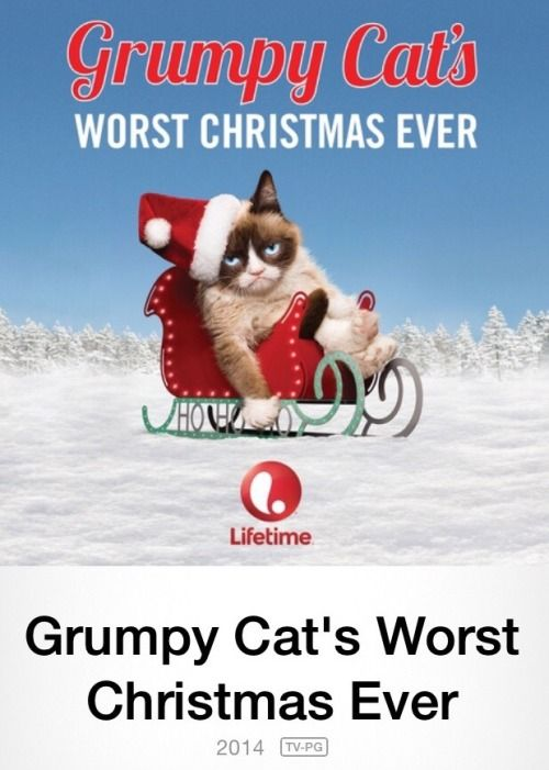 WARNING: Grumpy Cat's #WorstChristmasEver is available NOW on iTunes:  https://itun.es/us/mISP3