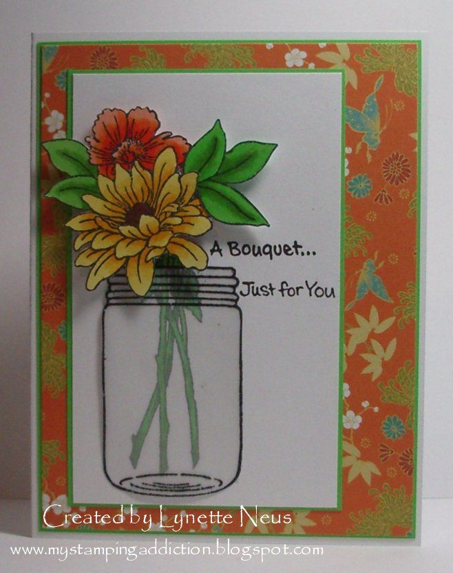 My Stamping Addiction: A Bouquet for You
