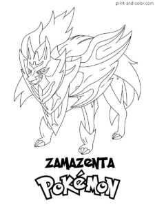 Pokemon Sword And Shield Coloring Pages Print And Color Com Pokemon Coloring Pokemon Coloring Pages Coloring Pages