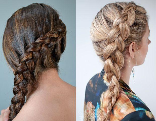 trecce particolari capelli lunghi