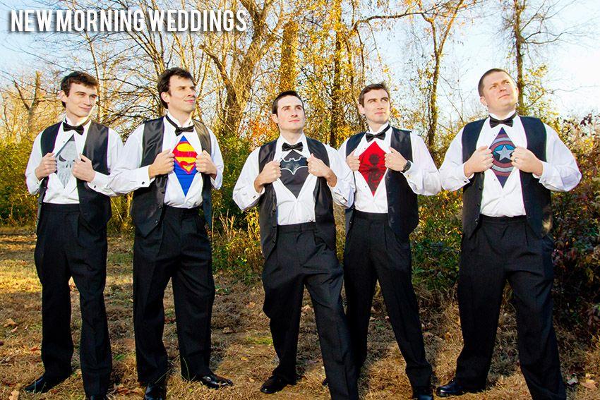 Super Hero Wedding Pictures | Superhero Wedding Picture