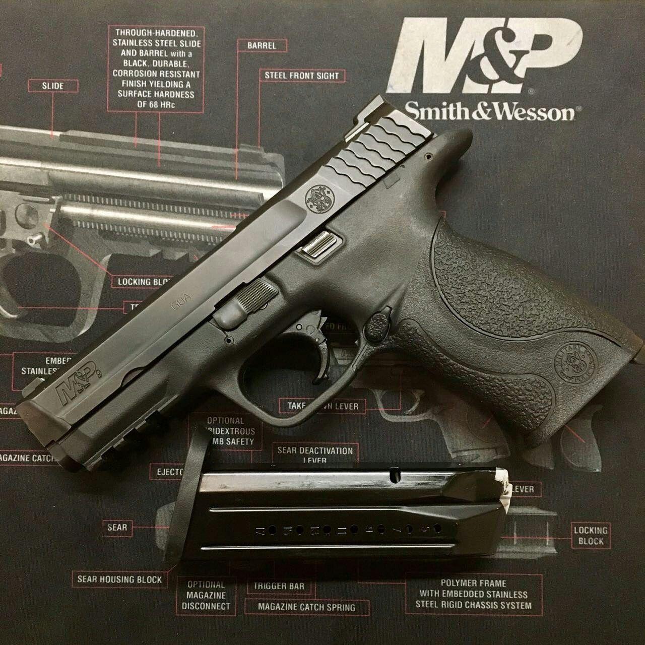 Smith & Wesson M&P cal 9 mm Fabricada en U.S.A. | de Marco Armas ...