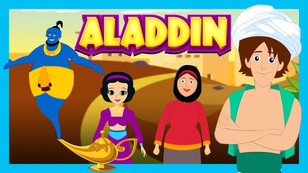 ALADDIN AND THE MAGIC LAMP - Story For Kids || ARABIAN