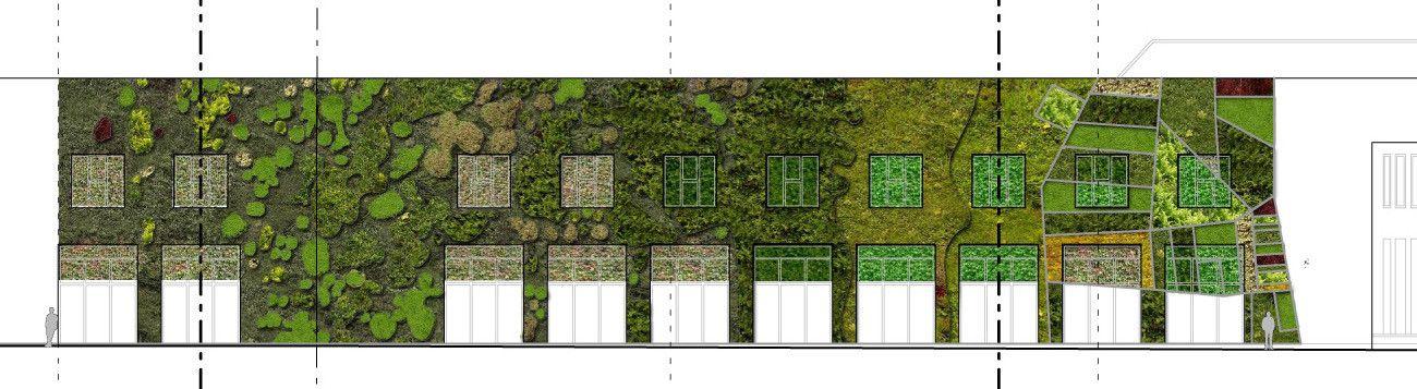 Galería de Arquitectura y Paisaje Jardín Vertical del Palacio de - paisaje jardin
