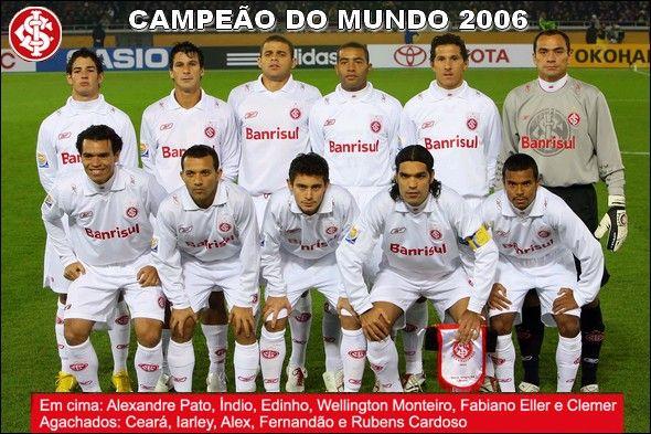 Sc Internacional Poster De Campeao Mundial Da Fifa 2006 Fifa Internacional Futebol Clube Sc Internacional