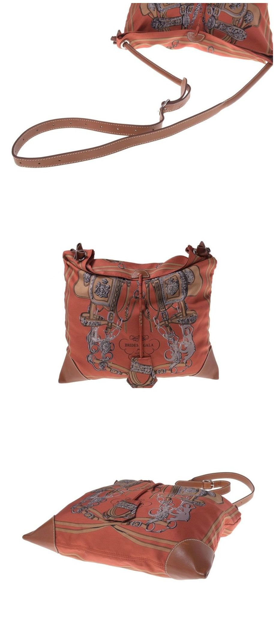 #Hermes Silky City PM #Silk / #Leather with Pouch N #stamp. Buy it now :  http://buff.ly/1KBITYY