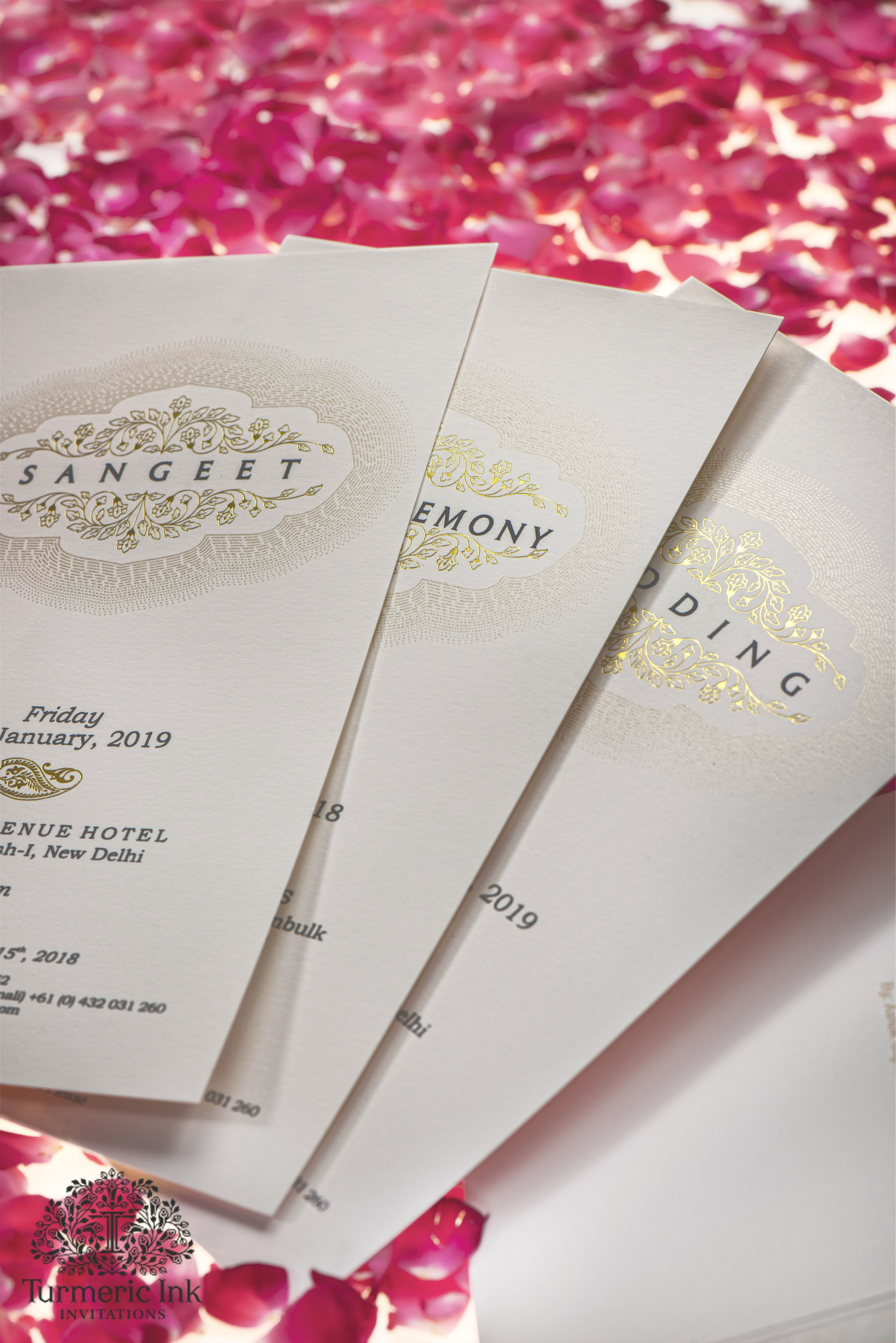 An Invite Done In A Vibrant And Lively Color Palette A Beautiful