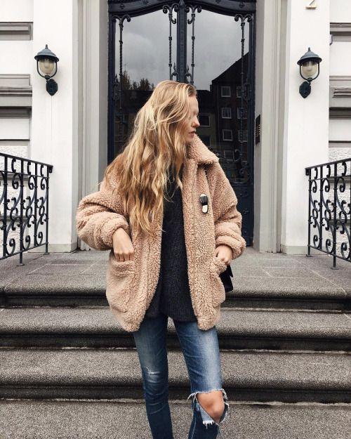 Teddy Bear Coat: O Casaco mais Quente da Estação | Casaco de