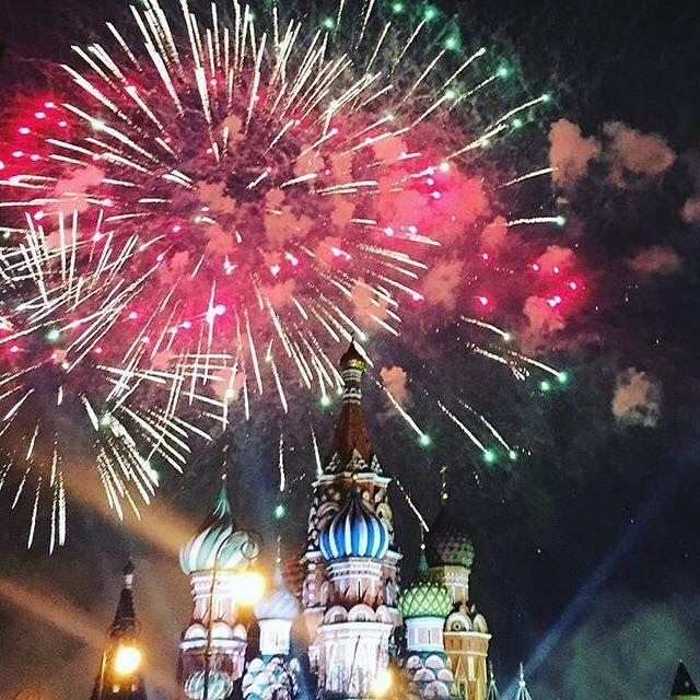 Ευτυχισμένος το 2016! #moscow #happynewyear #holidays #2016 #learnrussian #greekrussian #greece @moskvafm