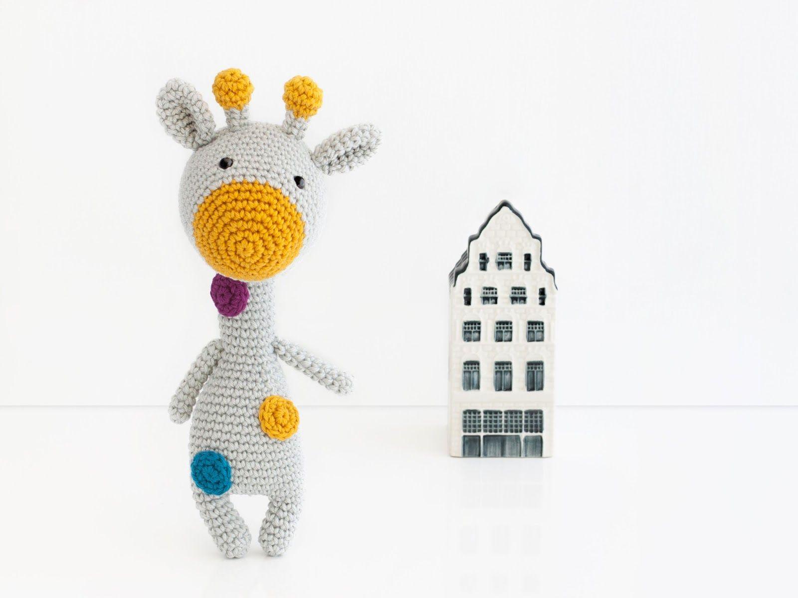 Amigurumi Jirafa Dottie | cat crochet applique | Pinterest | Jirafa ...