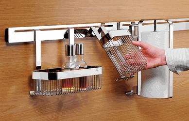 kitchen rail wall system | Kitchen rails, Wall railing, Wall ...