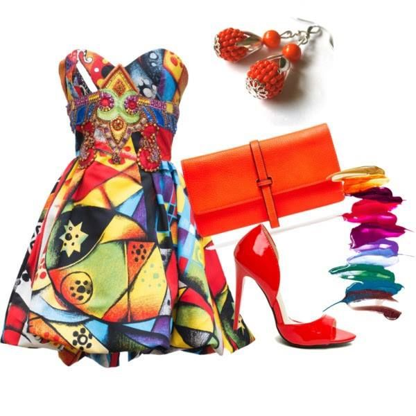Bláznivé, farebné, hravé, na osvieženie prvých jesenných dní. Náušnice nájdete tu: http://www.sperkysan.sk/Oranzove-obsivane-1