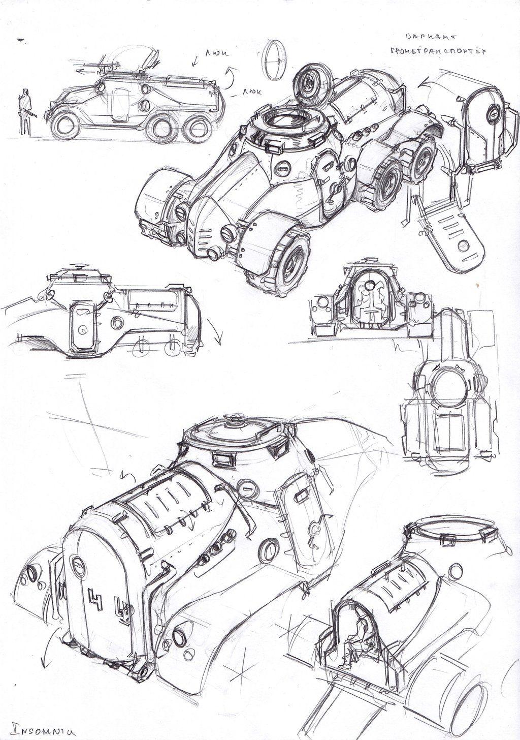 APC 2 by TugoDoomER on DeviantArt | Industrial Design in