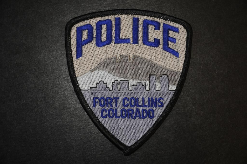 Fort Collins Police Patch, Larimer County, Colorado (Current