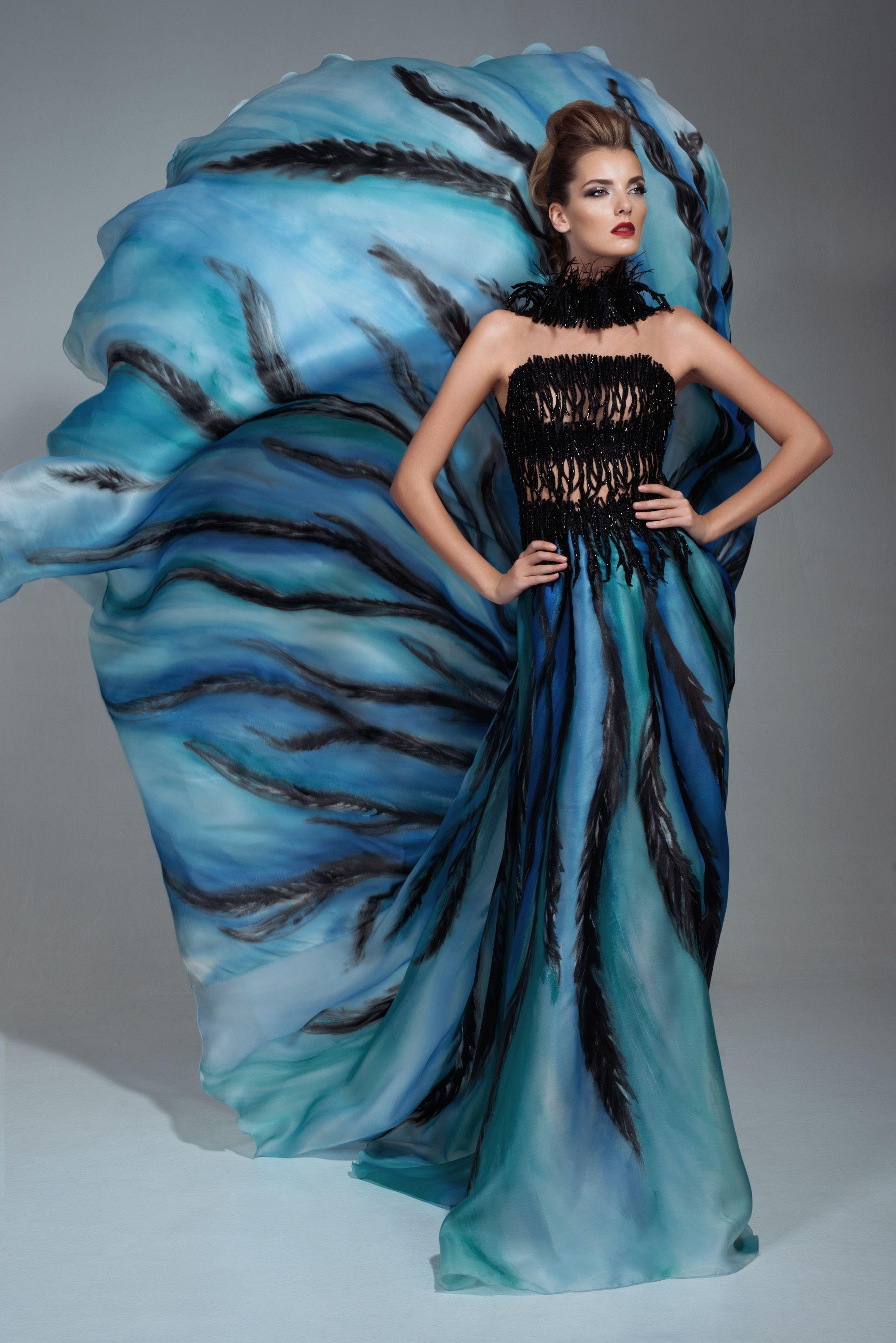 Return of the Phoenix Campaign / Couture dress / Blanka Matragi ...