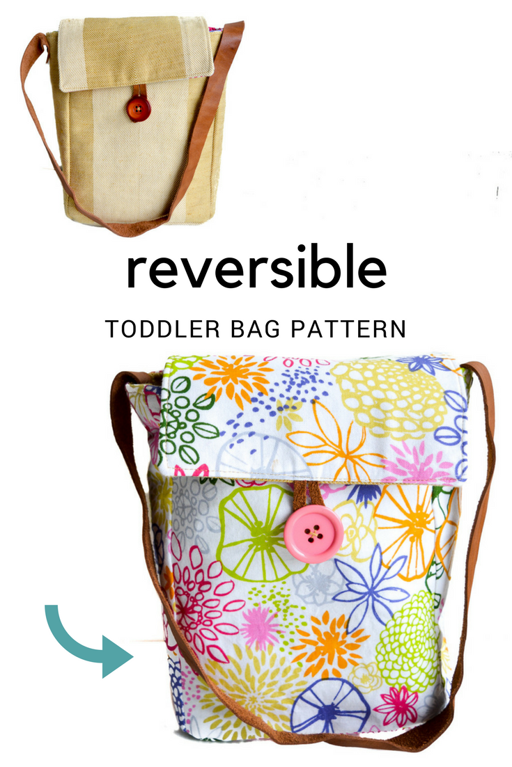 Free toddler bag pattern - toddler purse | Bolsos | Tutoriales ...