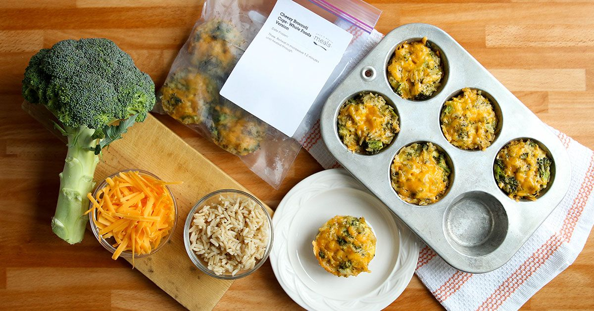 Cheesy Broccoli Cups Real Food Lunch Version Recipe Real Food Recipes Whole Food Recipes Baby Food Recipes