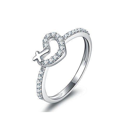 Jewelrypalace Amore Traversa Cuore Promessa Anello Genuin Https Anelli Di Fidanzamento Morganite Anelli Di Fidanzamento Unici Anello Di Fidanzamento Rosa