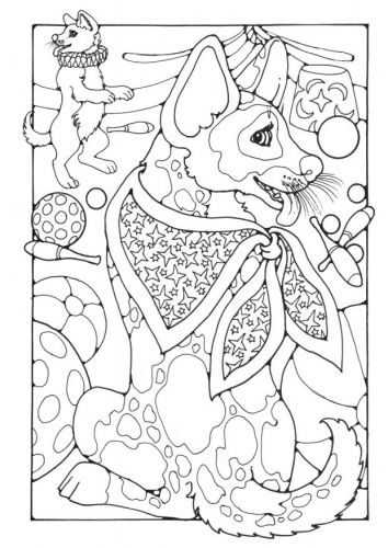 Coloring Book Layout : Kleurplaat circus tengee pinterest adult coloring and