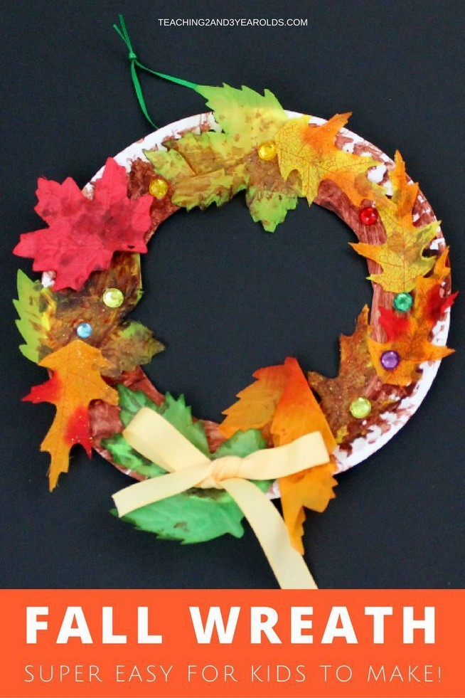 Fall crafts for kids preschool toddlers 4 - www.Mrsbroos.com #fallcraftsforkidspreschool