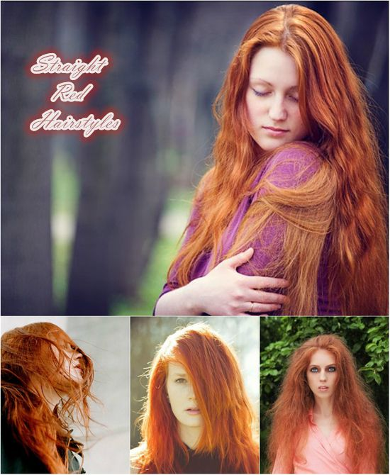 Preparation Work Before Dyeing Red Hair Extensions Wavy Hair