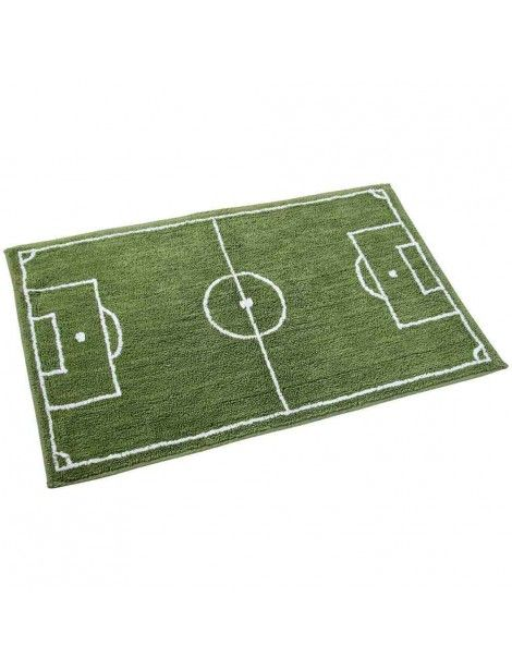 Cotton Washable Tufted Football Pitch Rug