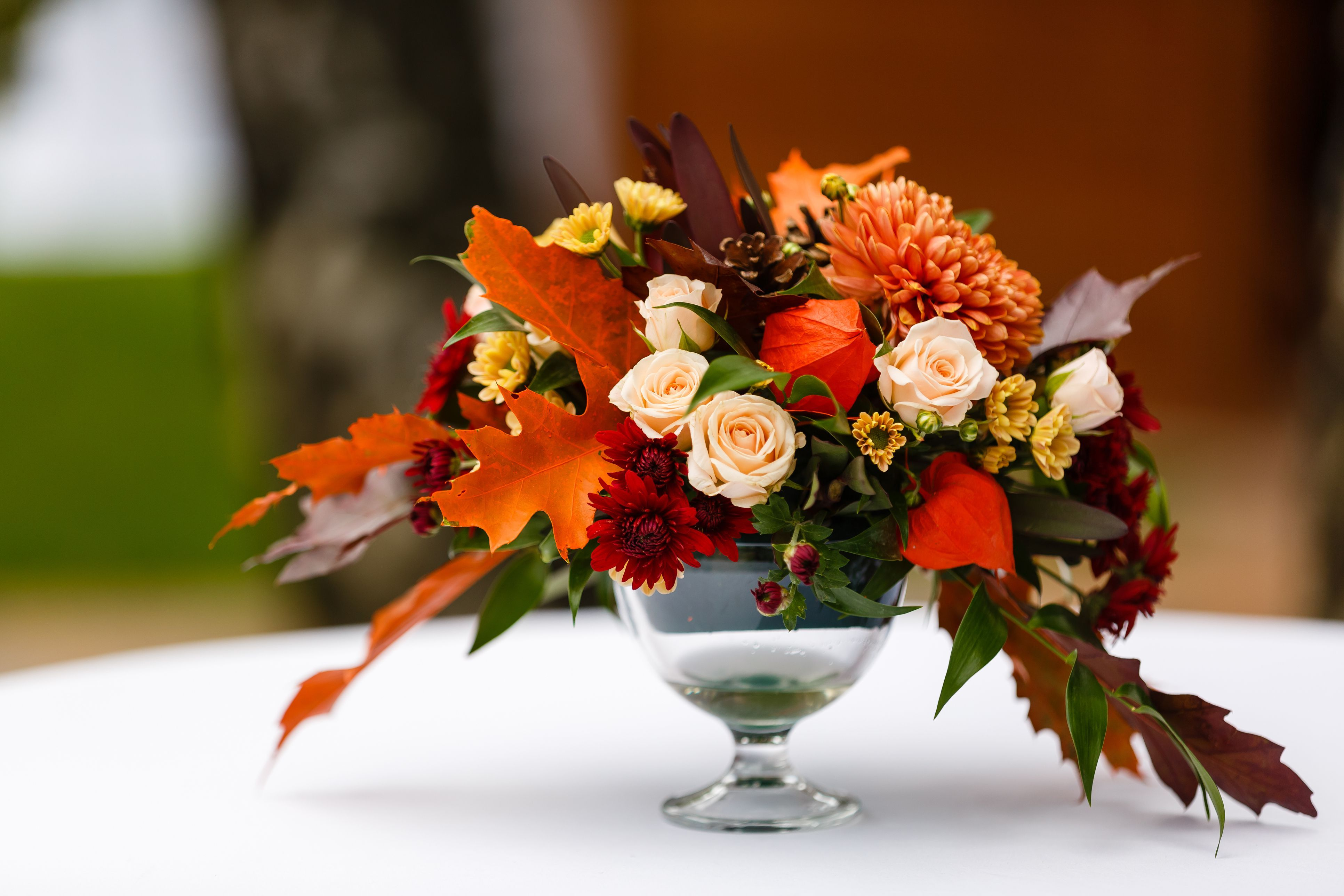 Thanksgiving Table Floral Arrangement Ideas, Right This ...