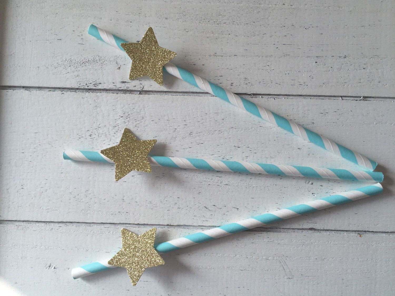 A personal favourite from my Etsy shop https://www.etsy.com/listing/285811457/10-blue-straws-price-crown-party