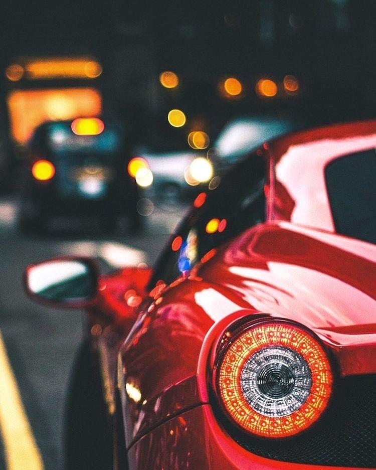 Red Ferrari #newferrari