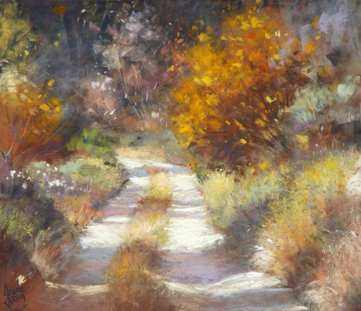 Lumiere D Octobre Jpg Peinture 40×30 Cm Par Claude Carvin Pastel