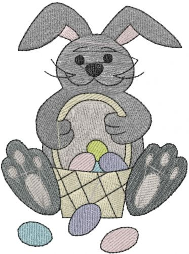 Free Easter Bunny Embroidery Design Annthegran Free Embroidery