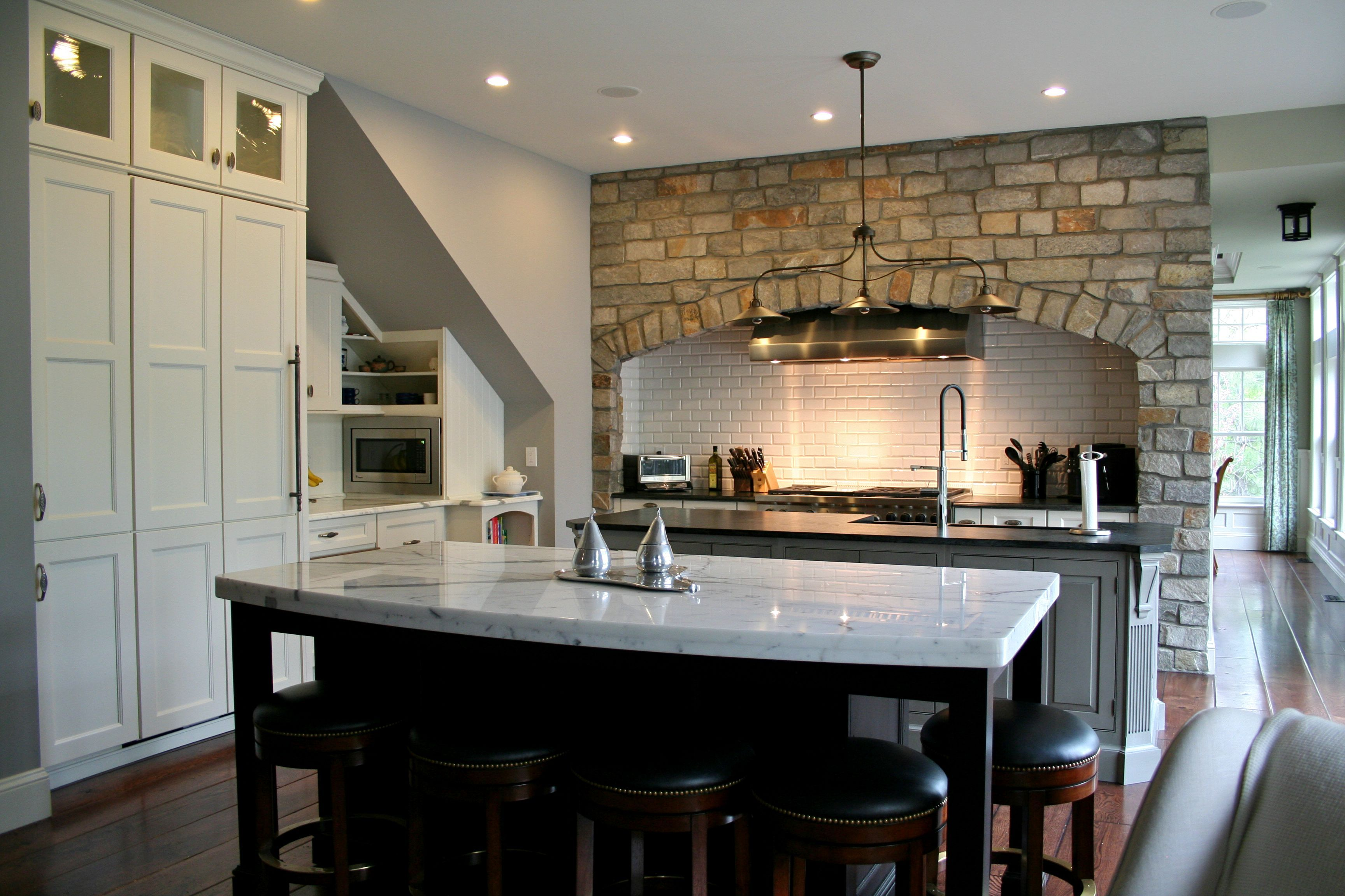 Bkc Kitchen And Bath Project Perimeter Cabinets Medallion Cabinetry Providence Door Style D Kitchen Technology Black Kitchen Cabinets Kitchen Inspirations