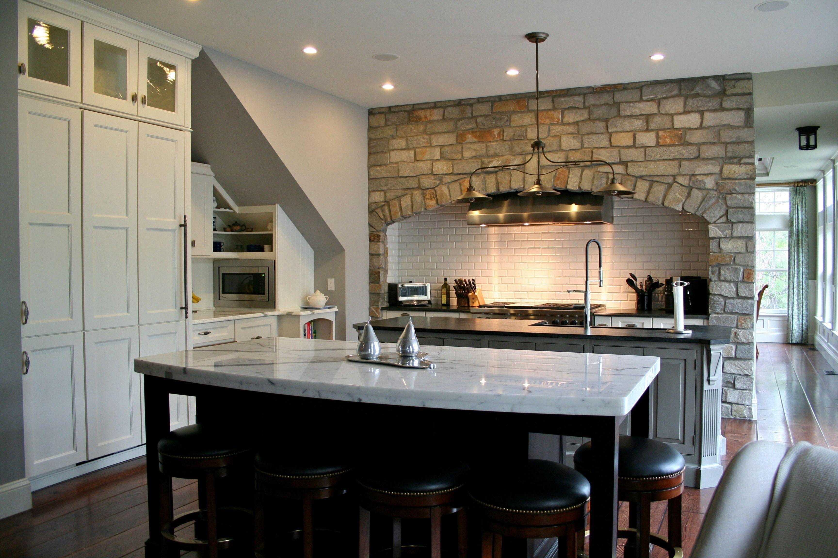 BKC Kitchen and Bath project Perimeter cabinets Medallion