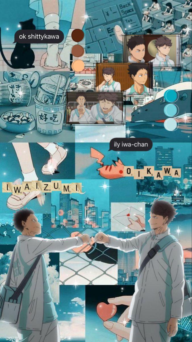 Iwaoi wallpaper
