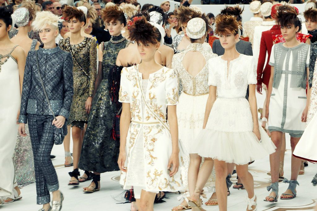 The Scene | Paris Couture Week: Chanel Fall/Winter 2014
