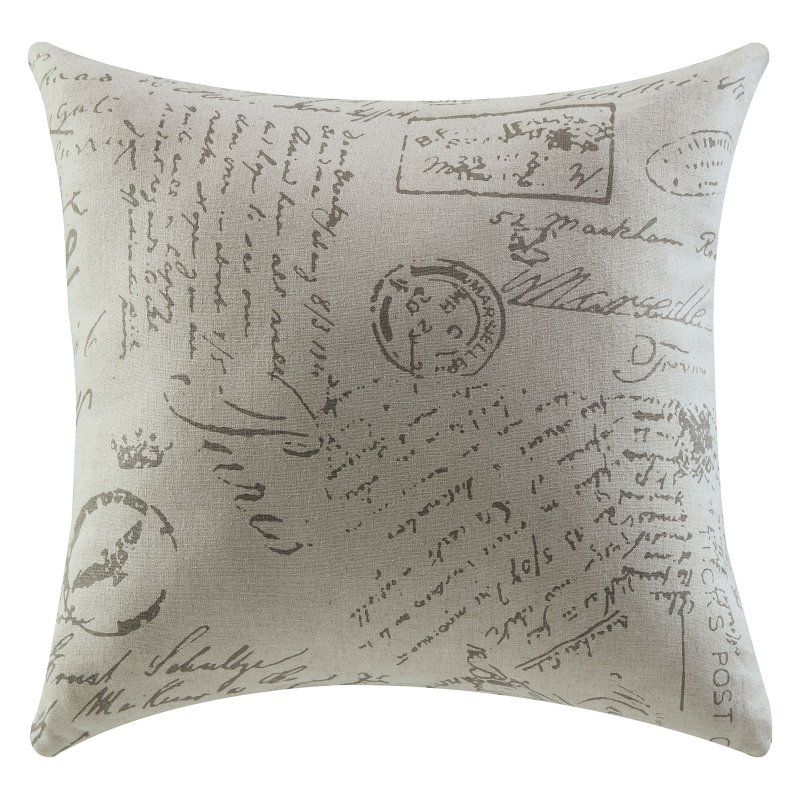 Coaster Company Of America French Script Accent Pillow 905030
